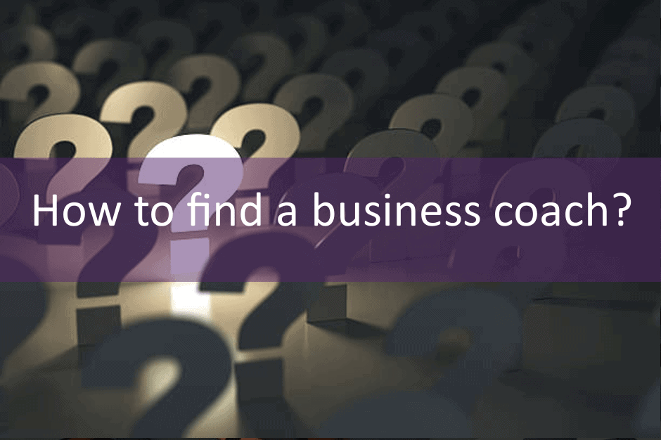 How to find a business coach