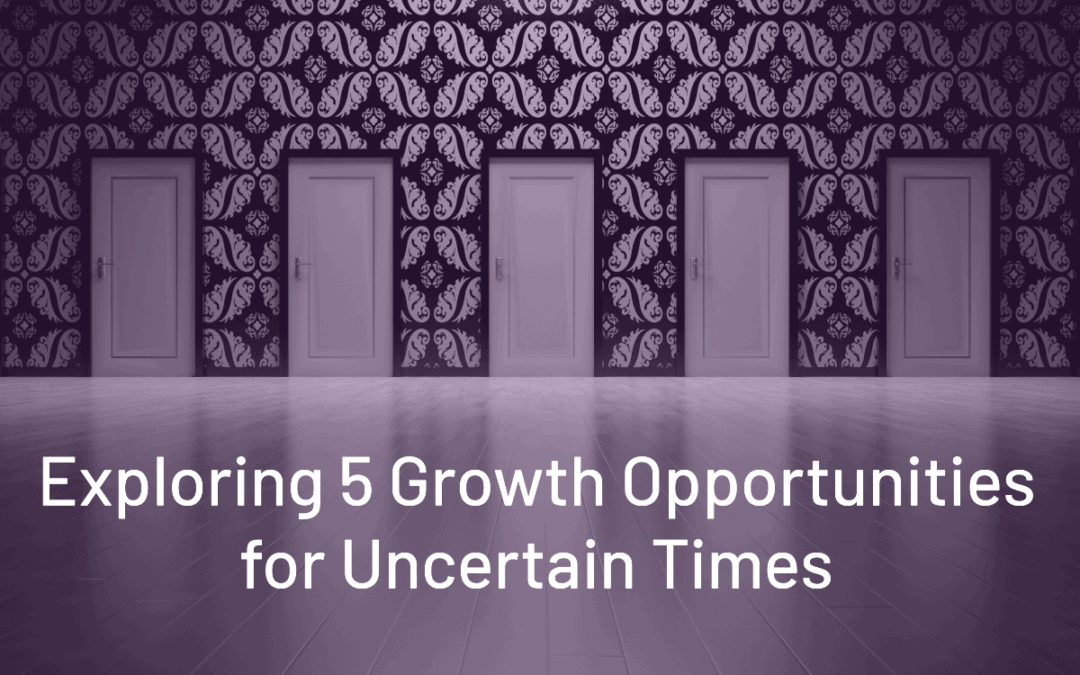 5 Growth Opportunities During Uncertain Times