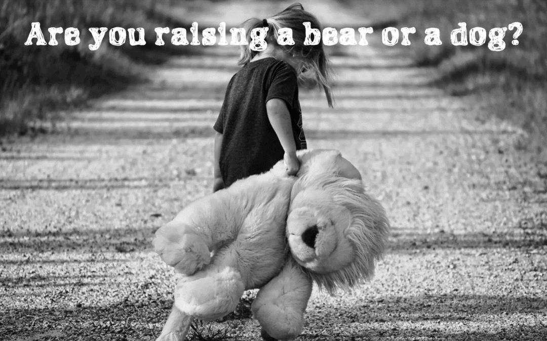 Building a business is like raising a bear cub believing it to be a dog